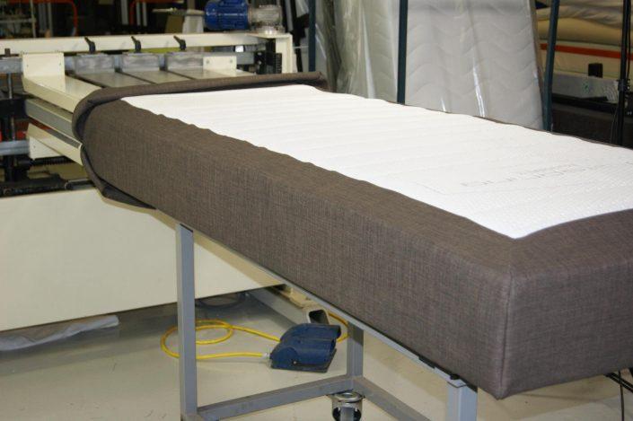 Boxspringfabriek productieproces boxspring 6