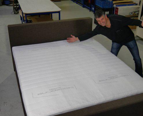 Boxspringfabriek productieproces boxspring 8