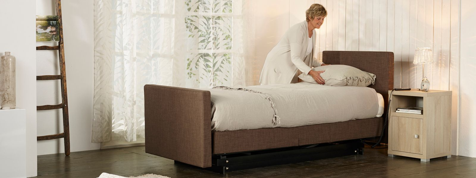Sensostep boxspring standaard stand