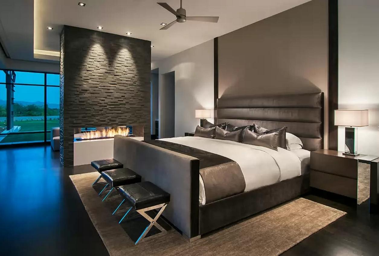 donkere slaapkamer trend