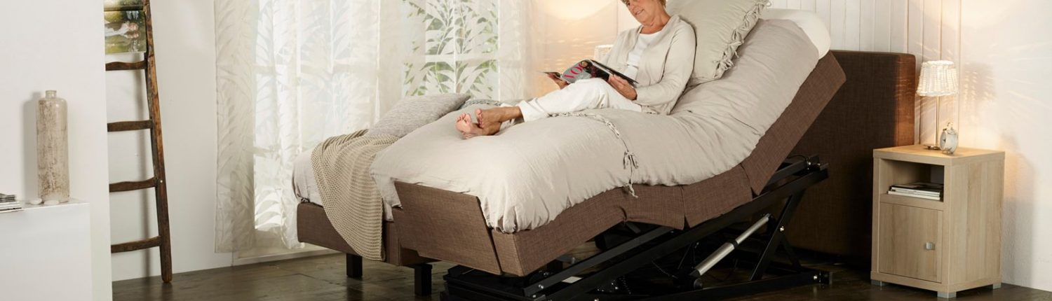 Sensostep boxspring relaxstand