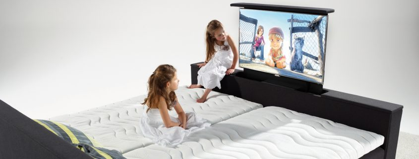 luxe bioscoopbed met tv