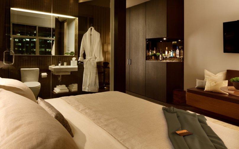 luxe hotel kamer in jouw slaapkamer bij boxspringfabriek